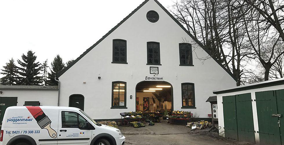 Renovierungsanstrich durch Malerbetrieb Plaggenmeier Bremen