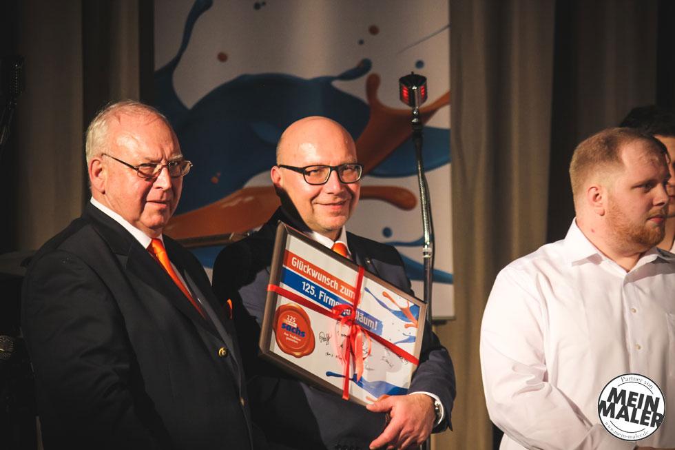 Sachs Baudekoration - 125jähriges Jubiläum