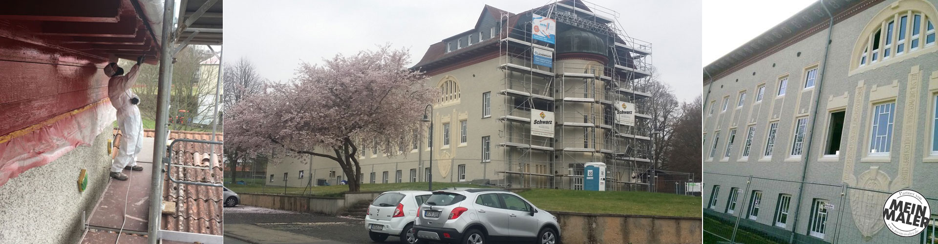 Fassadensanierung der Adolf-Spieß-Halle in Lauterbach