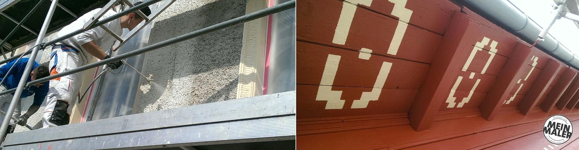 Fassadensanierung der