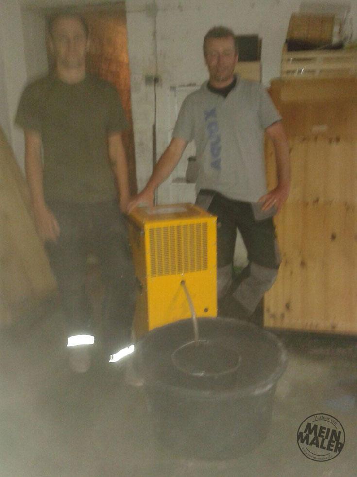 Unwetter mit Starkregen in Hannover - Keller unter Wasser - Schnelle Hilfe durch Aqua X Bautrocknung