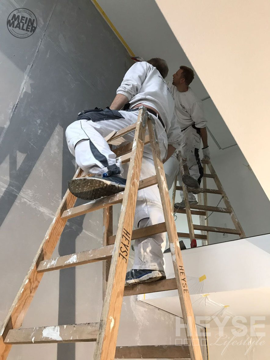Baustellenfotos: Betonoptik / Schalungsbeton / Rostoptik