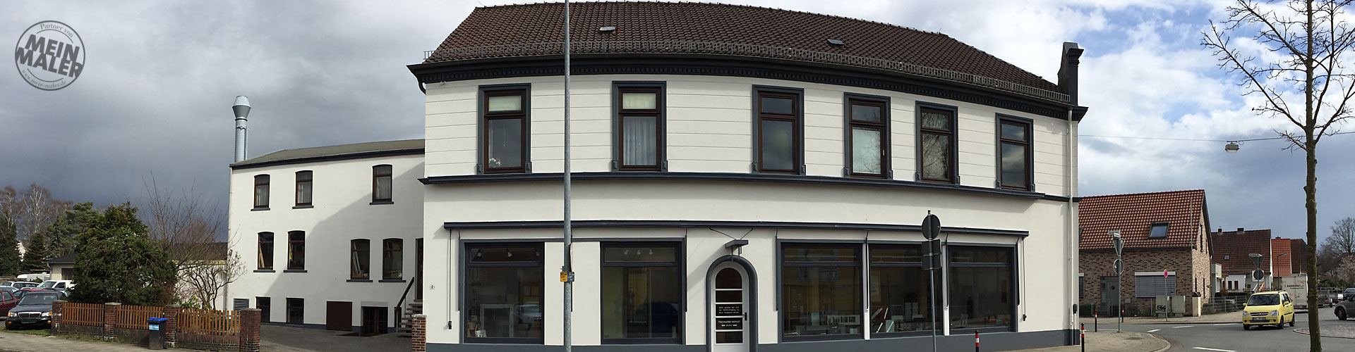 Gewerbeimmobilien sanieren Bremen, Fassadenrenovierung Verden, Malerarbeiten Achim