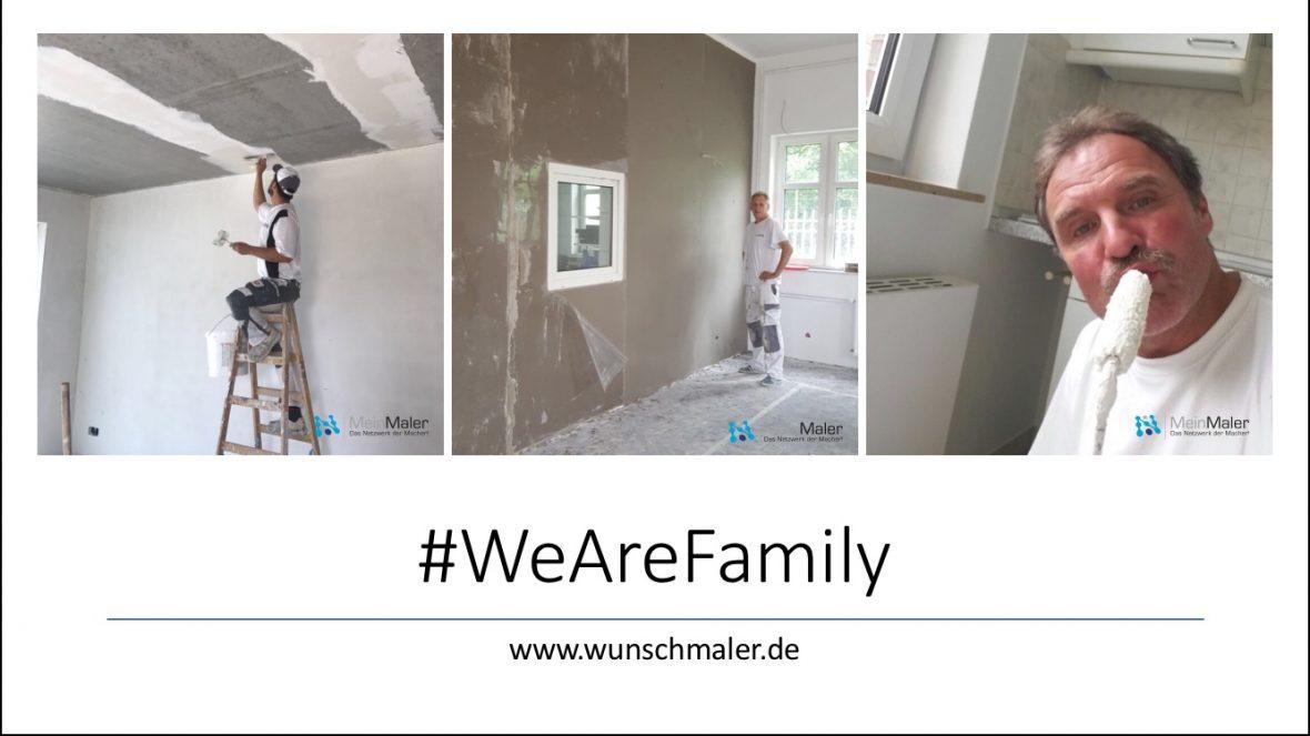 WeAreFamily - Teamwork bei Maler HEYSE aus Hannover Isernhagen