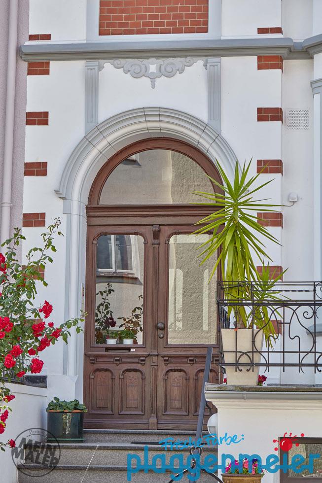 farbgestaltung einer altbaufassade im bremer szene. Black Bedroom Furniture Sets. Home Design Ideas