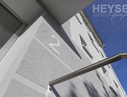 Energetische Sanierung einer Altbaufassade / Waermedaemmverbundsystem