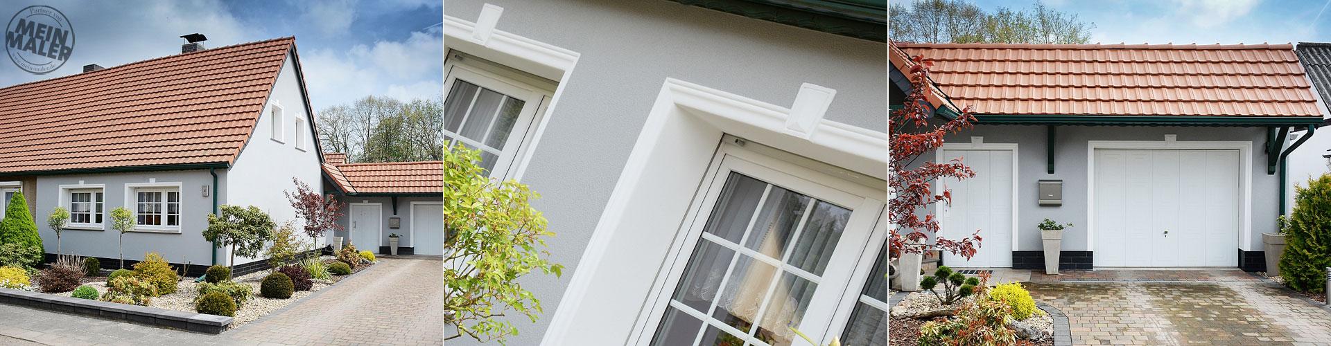 Fassaden-Sanierung / Fassadengestaltung