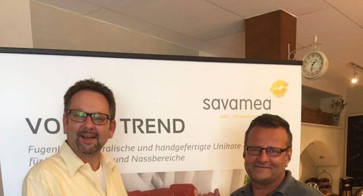Raumausstattermeister André Schwarz aus Malente zu Gast bei Savamea