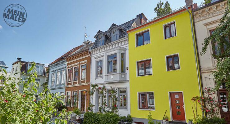 Fassadengestaltung einer Altbaufassade im Bremer Szeneviertel Ostertor