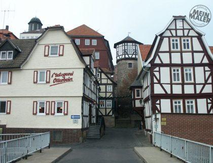 Sanierung von Fachwerk-Fassaden in Lauterbach