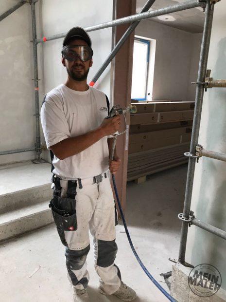 3M Vollsicht-Schutzbrille 2890SC Arbeitssicherheit Maler Handwerk MeinMaler