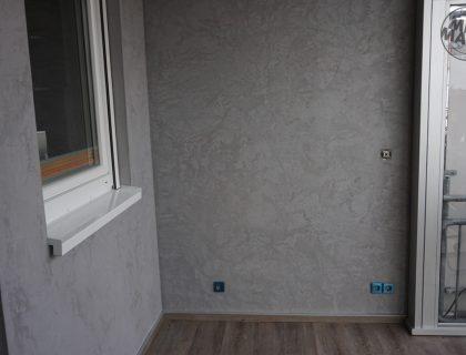 Individuelle, anspruchsvolle Wandgestaltung und Designboden-Belag in Mannheim