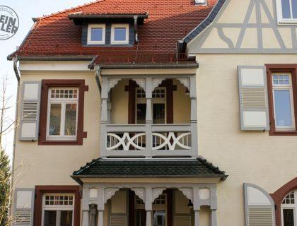 Sanierung einer Stadtvilla in Lauterbach