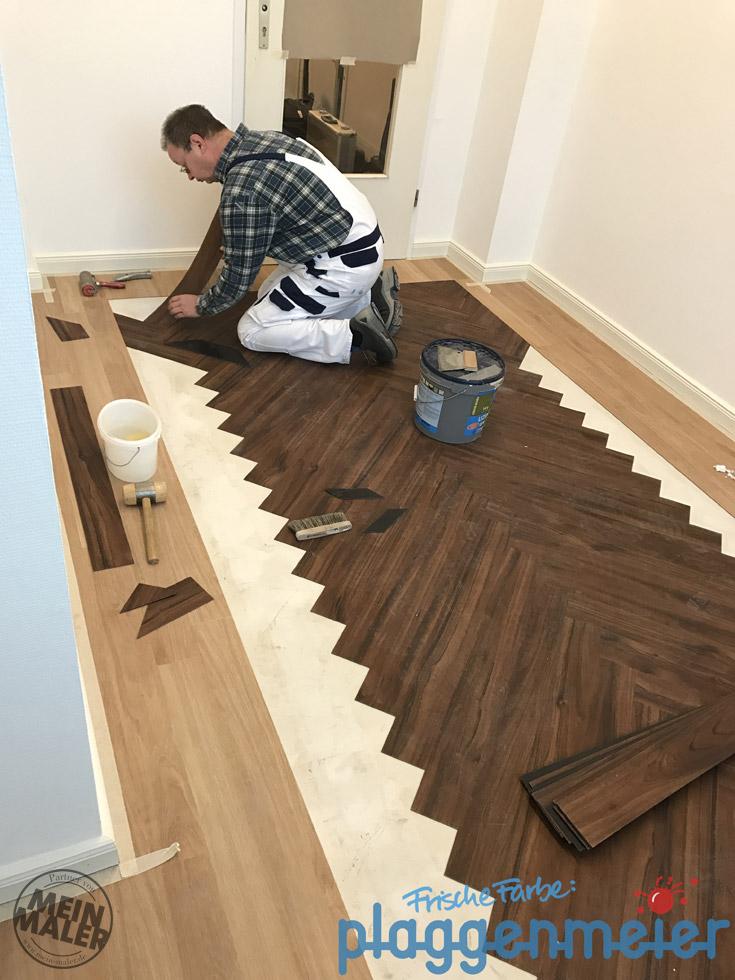 designbelag fachgerecht verlegen malerfachbetrieb plaggenmeier aus bremen meinmaler partner. Black Bedroom Furniture Sets. Home Design Ideas
