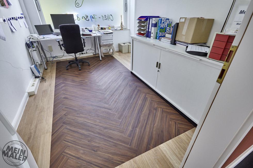 Fußbodenbelag Zum Gießen ~ Designbelag fachgerecht verlegen u2013 malerfachbetrieb plaggenmeier aus