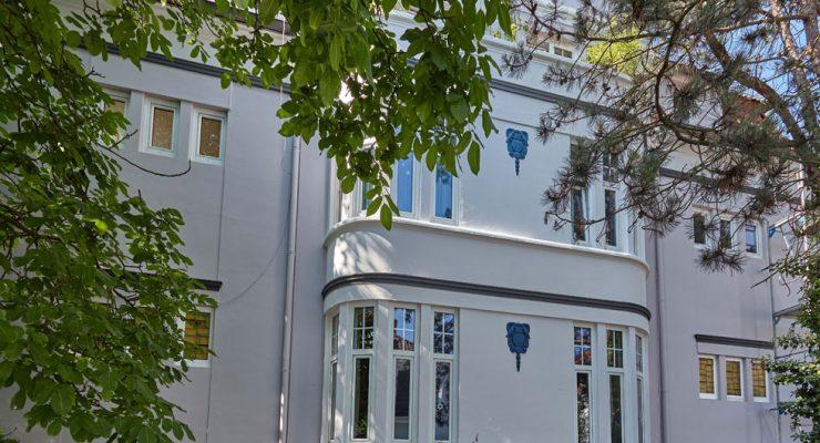 Gründerzeitfassade - Farbgestaltung und Sanierung in Bremen