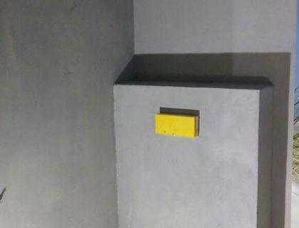 Renovierung eines Appartements: Betonoptik, Streichputz, Vinyl-Plankenbelag