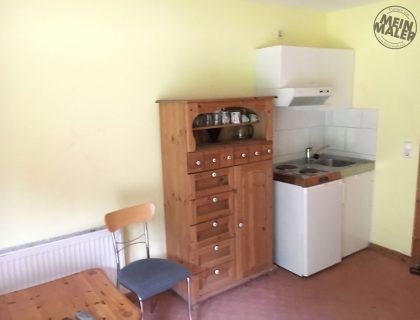 Renovierung eines Appartements: Betonoptik, Streichputz, Vinyl-Plankenbelag - vorher
