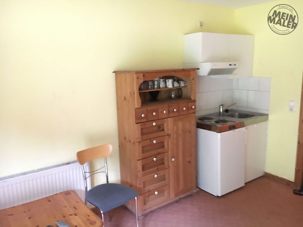 Renovierung eines Appartements in Bad Malente: Betonoptik ...