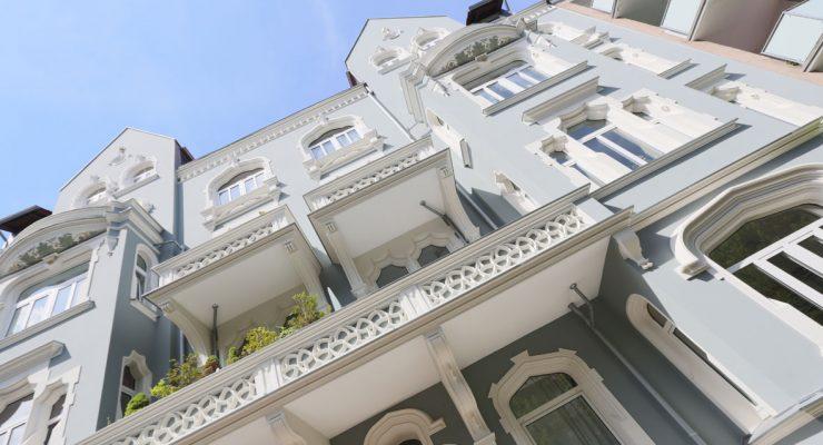 Stilfassade von 1902 - Siegerfassade 2016