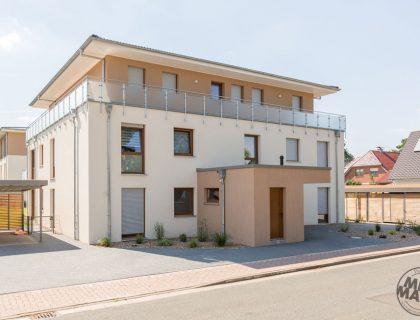 Appartementhäuser Fassadendämmung