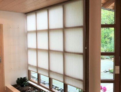 Sonnenschutz-Rollo, Fensterdekorationen in Eningen, Reutlingen, Tübingen, Stuttgart