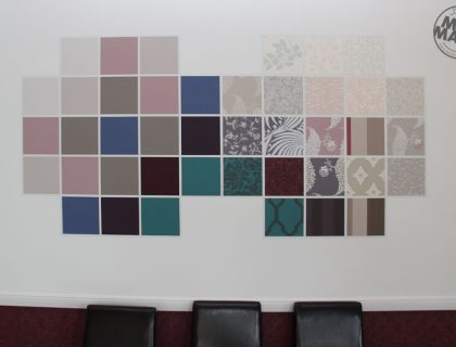 Wandgestaltung Farrow & Ball, Mannheim