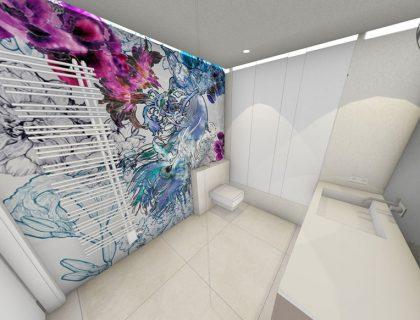 Wasserfeste Tapete Fürs Bad konzeptideen wasserfeste tapete für das bad