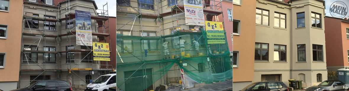 Malerbetrieb Martin Dillge in Braunschweig Fassadenrenovierung / WDVS / Fassadensanierung