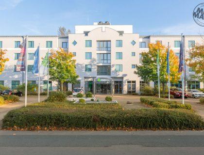 Fassadensanierung / Fassadenrenovierung am Hotel+ Hannover