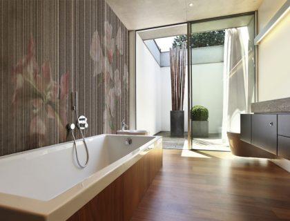 Italienische Designtapeten von Tecnografica - Modern Garden Wallpaper - Lieblingsmaler.de