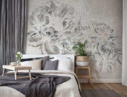Italienische Designtapeten von Tecnografica - Plumier Wallpaper - Lieblingsmaler.de