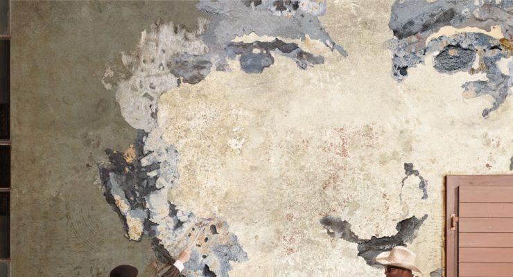 Italienische Designtapeten von Tecnografica - The Fathers 3 Wallpaper - Lieblingsmaler.de