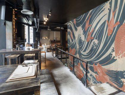 Italienische Designtapeten von Tecnografica - Waves Wallpaper - Lieblingsmaler.de