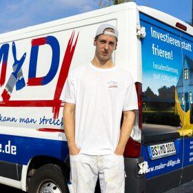 Maler Cedrik Dillge aus Braunschweig