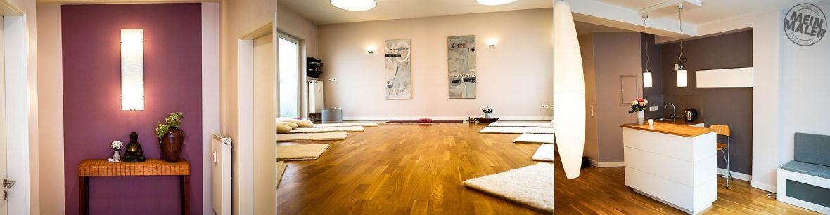 Malerarbeiten / Wandgestaltung / Bodenbeläge / Farbgestaltung