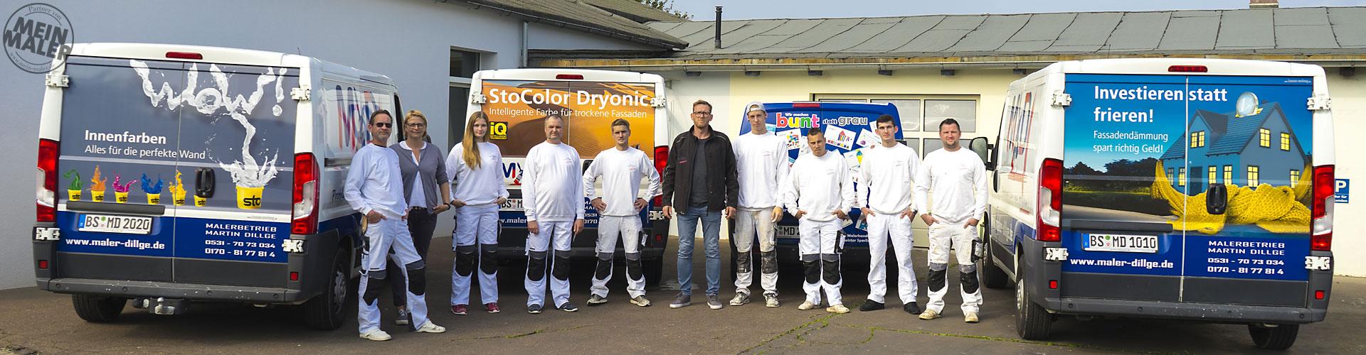 Malerbetrieb Martin Dillge - Dein Lieblingsmaler in Braunschweig