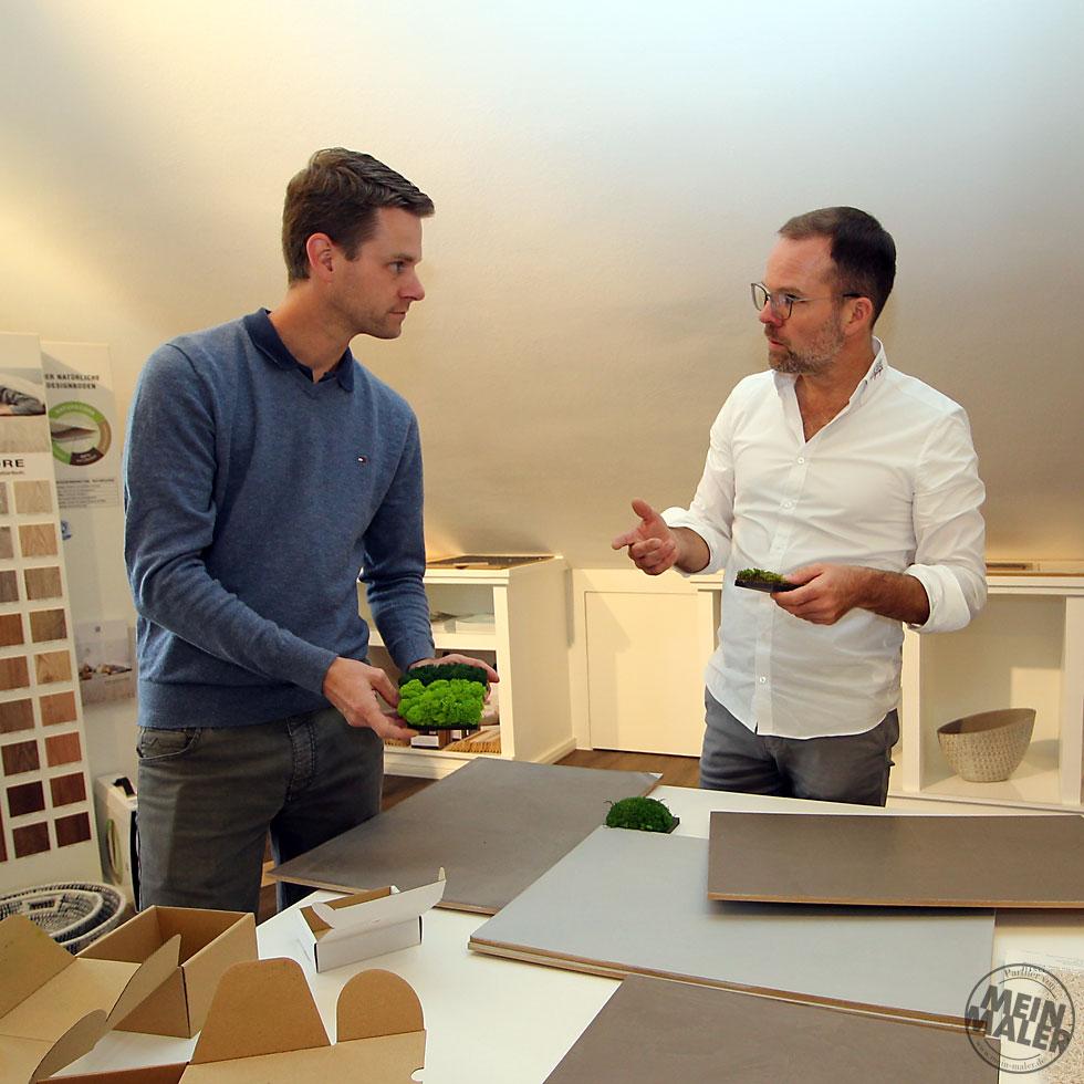 Malermeister Christian Bothe von B & B malerhandwerk GmbH in Eningen