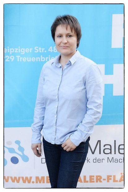 Katrin Friedrich - Fläming Malerei aus Treuenbrietzen - Lieblingsmaler im neuen Outfit