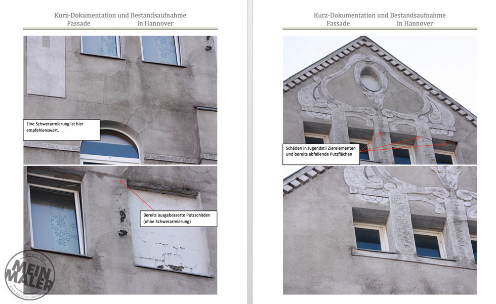 Ausschnitt Fassaden Analyse Hannover