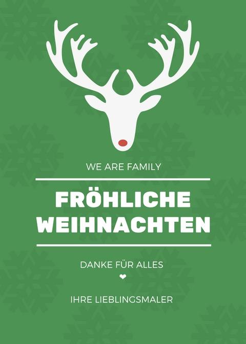 MeinMaler - Frohe Weihnachten
