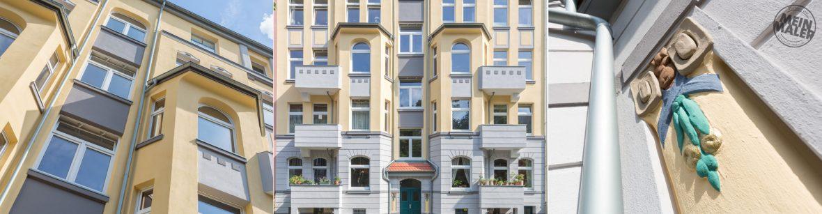 Sanierung einer Stilfassade in Hannover