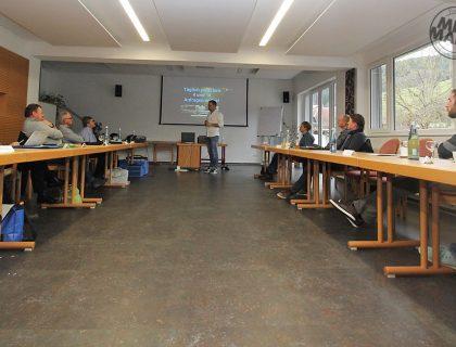 Social Media Marketing im Handwerk - Malermeister Matthias Schultze auf dem Geroldseck-Seminar in Biberach-Prinzbach