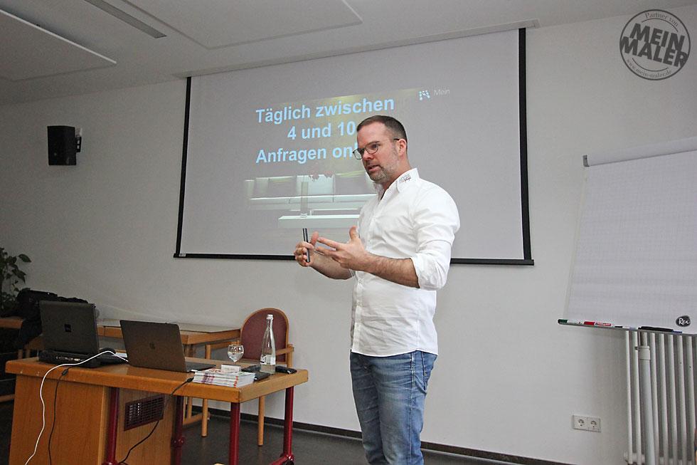 Social Media Marketing im Handwerk Vortrag - Geroldseck Seminarreihe