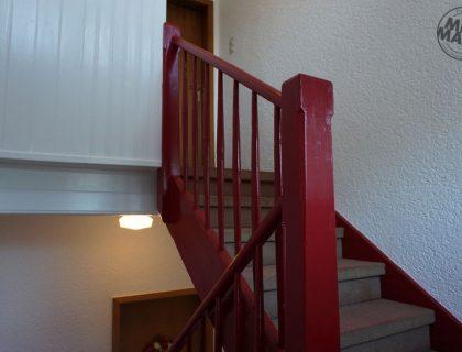 2 Mannheim Treppenhaus Mehrfamilienhaus Lackierarbeiten Gestaltung