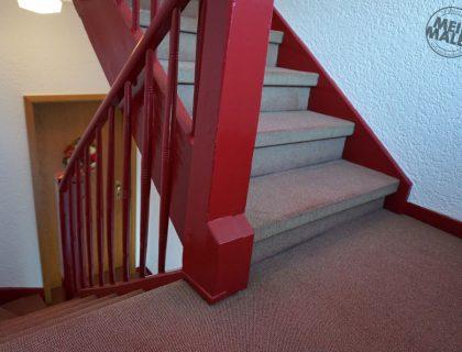 3 Mannheim Treppenhaus Mehrfamilienhaus Lackierarbeiten Gestaltung