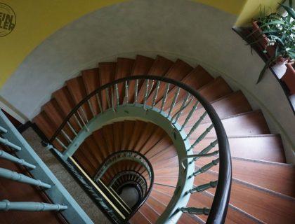 5 Mannheim Treppenhaus Malerarbeiten Jugendstil Gebaeude Gestaltung