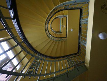 6 Mannheim Treppenhaus Malerarbeiten Jugendstil Gebaeude Gestaltung