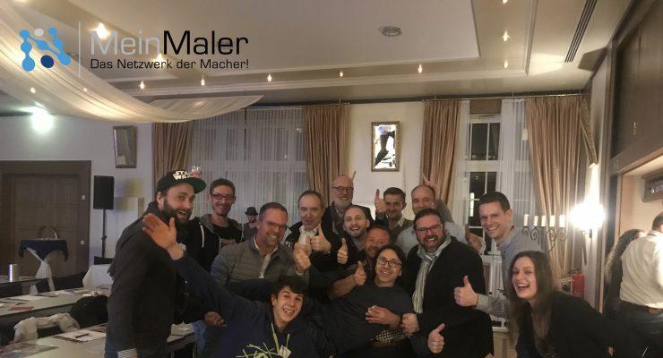 TEAMgeist bei den MeinMaler-Partnertagen 2018