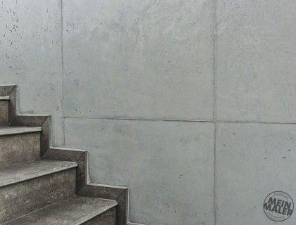 Betonoptik Schalungsfugen Moderne Wand Wandgestaltung Reichenbach Maler 03